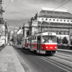 Trams in Prague Prague Castle Tram 22