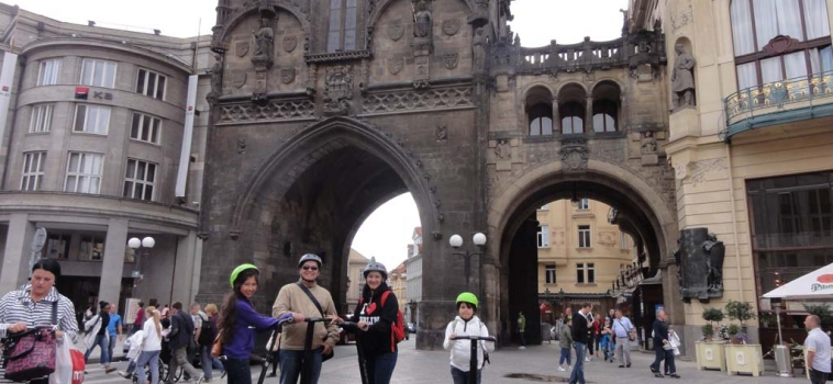 To do in Prague: Prague family tour with Segway