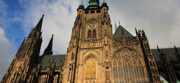 Crown jewels in St Vitus Cathedral – Prague Castle