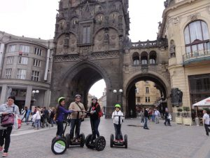 Prague family tour with Segway