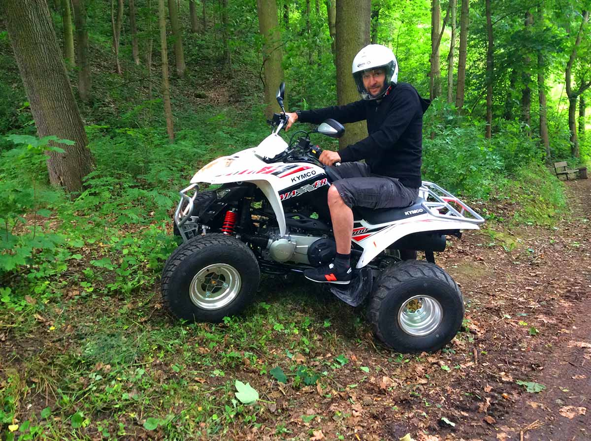 Quad rental in Prague