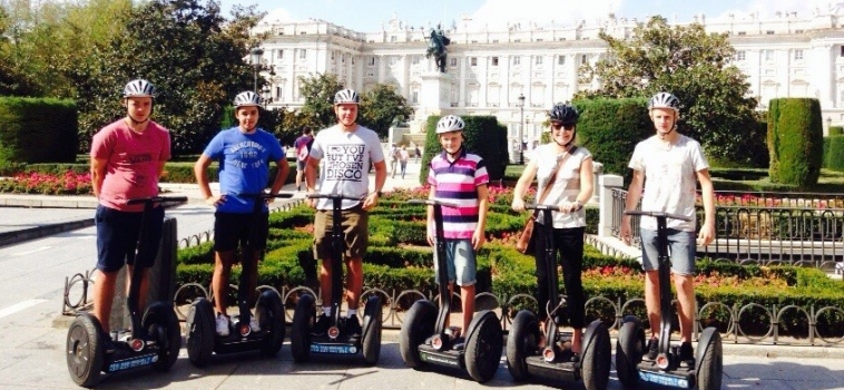 The best way to know Madrid: on Segway